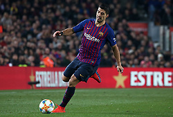 February 6, 2019 - Barcelona, Spain - Luis Suarez during the match between FC Barcelona and Real Madrid corresponding to the first leg of the 1/2 final of the spanish cup, played at the Camp Nou Stadium, on 06th February 2019, in Barcelona, Spain. (Credit Image: © Joan Valls/NurPhoto via ZUMA Press)