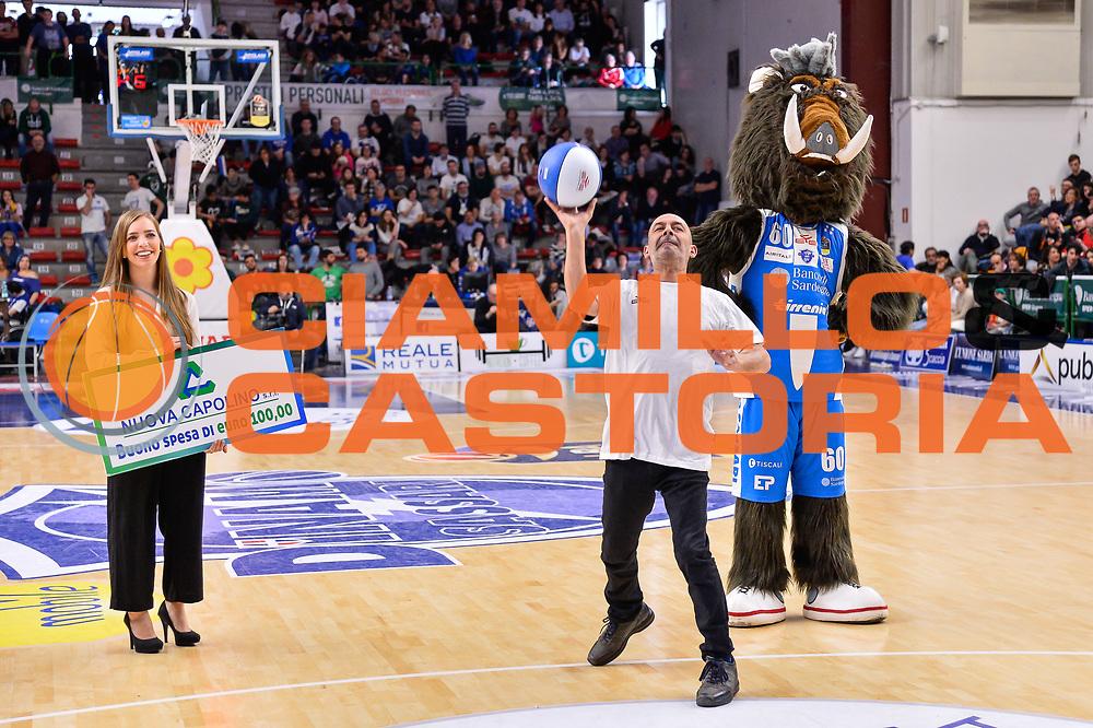 Gioco Nuova Capolino<br /> Banco di Sardegna Dinamo Sassari - Germani Basket Leonessa Brescia<br /> Legabasket Serie A LBA PosteMobile 2017/2018<br /> Sassari, 08/04/2018<br /> Foto L.Canu / Ciamillo-Castoria