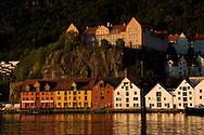 Downtown Bergen and harbor