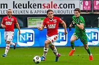 ALKMAAR - 26-02-2017, AZ - PEC Zwolle, AFAS Stadion, 1-1, debuut, AZ speler Jonas Svensson.