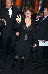 RUBY WAX at the Conservative Party's Black & White Ball held at Old Billingsgate, 16 Lower Thames Street, London EC3 on 8th February 2006.<br /><br />NON EXCLUSIVE - WORLD RIGHTS