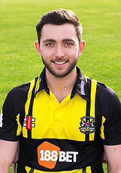 Matt Taylor of Gloucestershire Cricket poses for a headshot in the Royal London One Day Cup kit - Mandatory by-line: Robbie Stephenson/JMP - 04/04/2016 - CRICKET - Bristol County Ground - Bristol, United Kingdom - Gloucestershire  - Gloucestershire Media Day