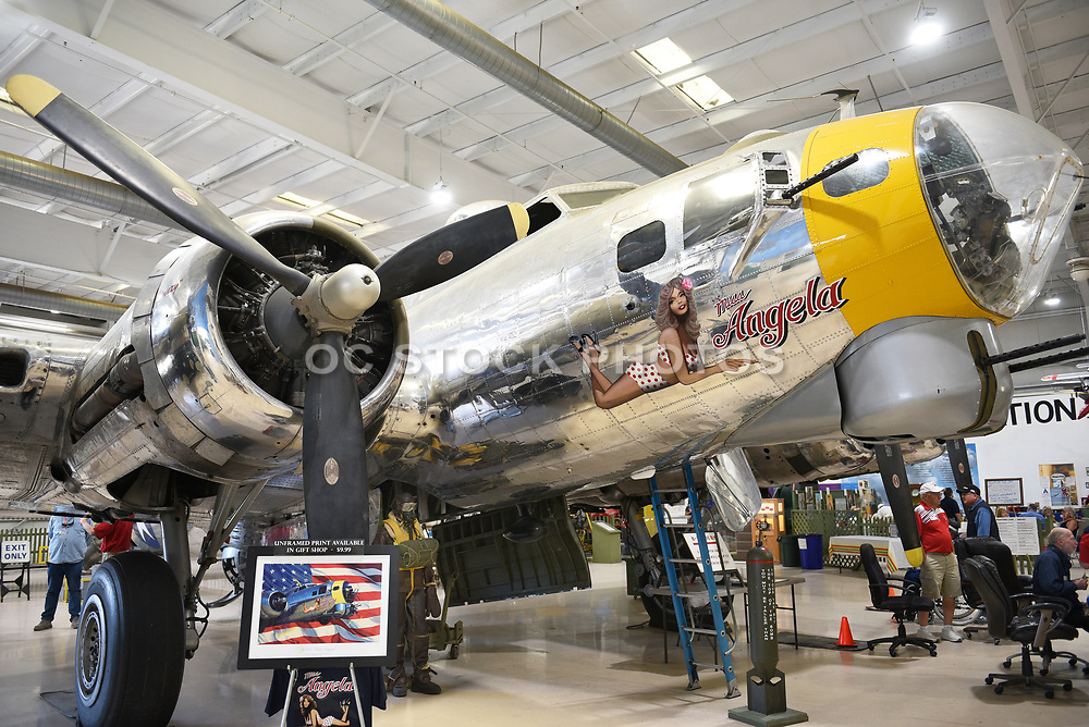 B-17 Flying Fortress Miss Angela at the Palm Springs Air Museum
