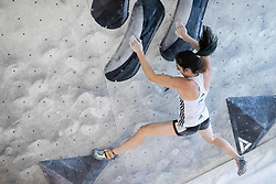 Mia Krampl during training competition of Slovenian National Climbing team before new season, on June 30, 2020 in Koper / Capodistria, Slovenia. Photo by Vid Ponikvar / Sportida