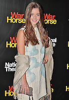 LONDON - October 25: Celine Buckens at the War Horse 5th Anniversary Performance (Photo by Brett D. Cove)