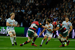 December 9, 2018 - Nanterre, Hauts de Seine, France - Racing 92 Flanker ANTONIE CLAASSEN in action during the rugby Champions Cup Day 3 between Racing 92 and Leicester at U Arena Stadium in Nanterre - France..Racing 92 Won 36-26. (Credit Image: © Pierre Stevenin/ZUMA Wire)