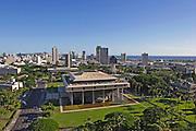 State Capitol Building; Honolulu; Oahu; Hawaii