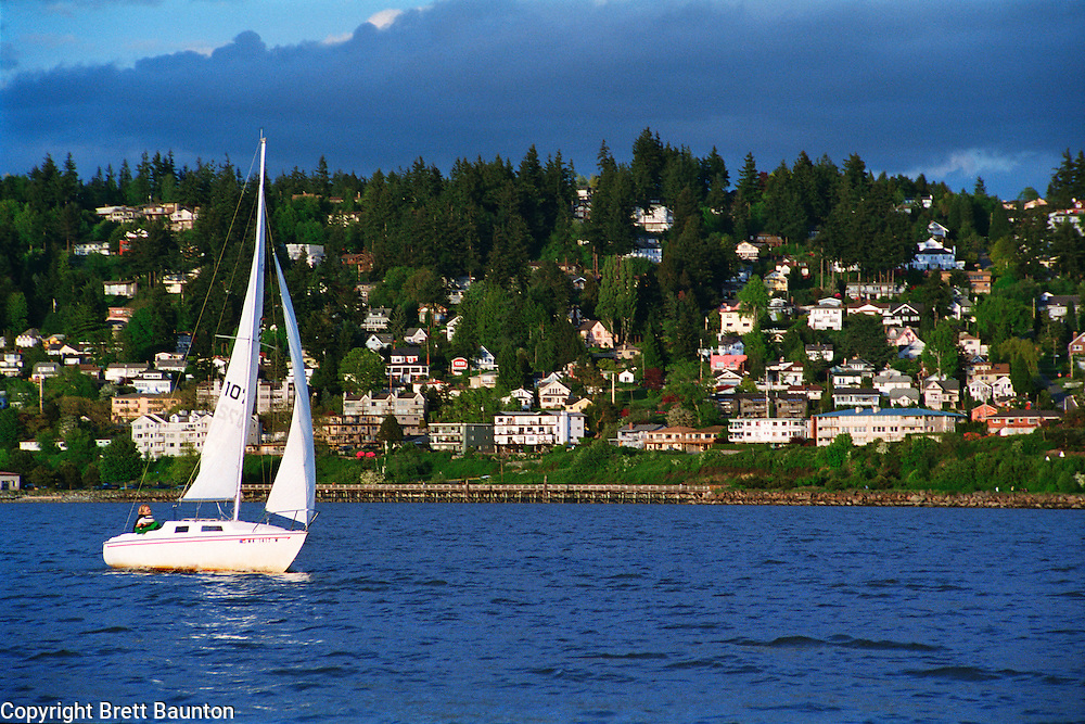 Sailing, Bellingham Bay