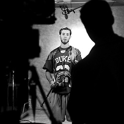 Duke Lacrosse: Behind the Scenes in B+W Photography in 2009 Final Four