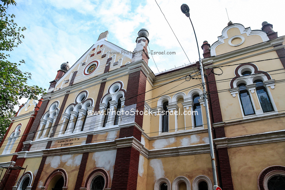 The old Synagogue in Baia Mare, Maramures County, Romania