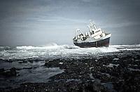 Ship wreck, Kenya
