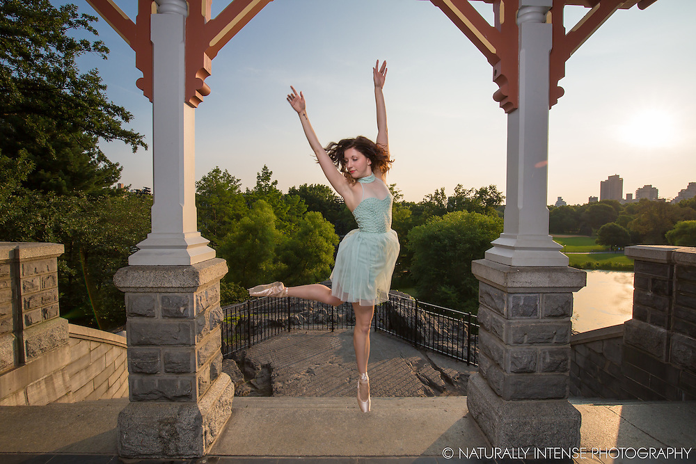 Belevedre Castle Central Park Dance As Art- The New York Photography Project featuring Chelsea Stembridge.
