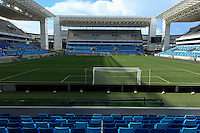 """Football Fifa World Cup Brazil 2014 / <br /> Cuiaba- Mato Grosso - Brazil - ( Santos Fc vs Mixto Team  0-0 )<br /> Opening Match and Cerimony of New Stadium """" Arena Pantanal Stadium """" , Ready for the next  <br /> FIFA World Cup Brazil 2014  , and able to accommodate a capacity of 42.968 Spectators"""