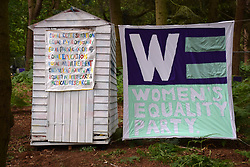 Latitude Festival 2017, Henham Park, Suffolk, UK. Women's Equality Party area