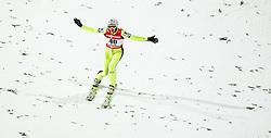 20.02.2015, Lugnet Ski Stadium, Falun, SWE, FIS Weltmeisterschaften Ski Nordisch, Skisprung, Damen, Finale, im Bild Daniela Iraschko Stolz (AUT) // during the Ladies Skijumping Final of the FIS Nordic Ski World Championships 2015 at the Lugnet Ski Stadium, Falun, Sweden on 2015/02/20. EXPA Pictures © 2015, PhotoCredit: EXPA/ JFK