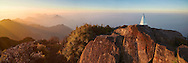 Vietnam Images-Sunrise at Fansipan summit - the highest peak in Indochina peninsula.Sapa VietNam Hoàng thế Nhiệm