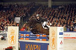 Houwen Kristian - HBC Regilio<br /> KWPN Hengstenkeuring - 's Hertogenbosch 2008<br /> Photo © Hippo Foto