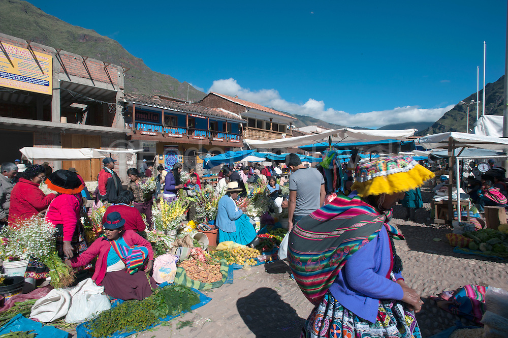 Markets such as Pisac are part of organized tours of travel agencies, where they  can buy crafts and textiles, but in the same area they  also everyday stuff and the locals often visits them, maybe more than the  tourists