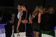 David Walliams; Karolina Kurkova, The Elle Style Awards 2009, The Big Sky Studios, Caledonian Road. London. February 9 2009.
