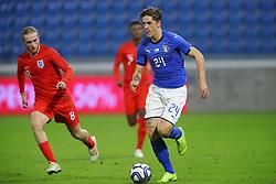 NICOLO ZANIOLO (ITALY)     <br /> Football friendly match Italy vs England u21<br /> Ferrara Italy November 15, 2018<br /> Photo by Filippo Rubin