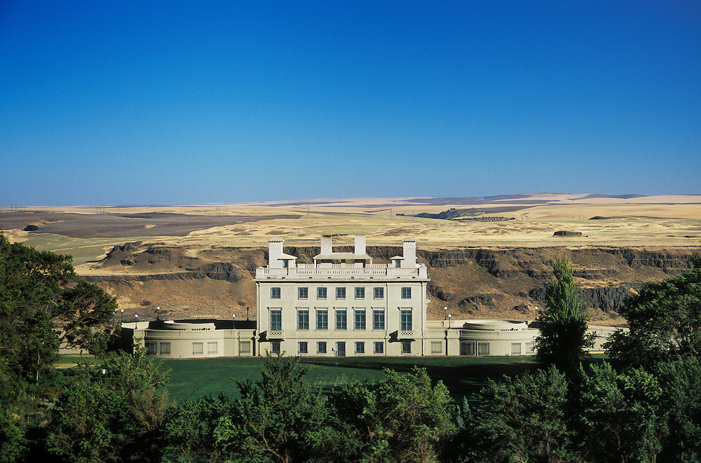 Maryhill Museum, overlooking the Columbia River Gorge at Maryhill, Washington.