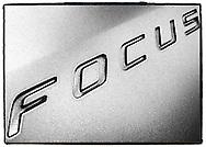 Ford Focus emblem.