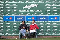 Vermeir Wilm, Bongaerts Karolien, BEL<br /> Spruce Meadows Masters - Calgary<br /> © Dirk Caremans<br /> 08/09/2018