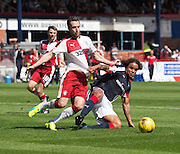 Rangers' Danny Wilson and Dundee's Yordi Teijsse - Dundee v Rangers, Ladbrokes Scottish Premiership at Dens Park<br /> <br />  - © David Young - www.davidyoungphoto.co.uk - email: davidyoungphoto@gmail.com