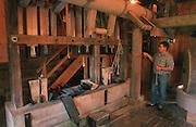 Deutschland, Germany,Baden-Wuerttemberg.Schwarzwald.Seelbach, Glatz Mühle (Museumswassermühle) an der Schutter: ÷lmühle.Seelbach, water mill museum, oil mill...