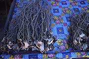Kava root, market, Nadi, Fiji<br />