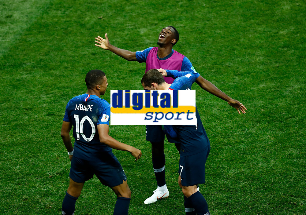 Kylian MBAPPE, Antoine GRIEZMANN <br /> Celebration Victory France <br /> Moscow 15-07-2018 Football FIFA World Cup Russia  2018 Final / Finale <br /> France - Croatia / Francia - Croazia <br /> Foto Matteo Ciambelli/Insidefoto