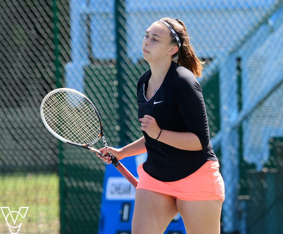 Team Tennis Schools National Championships Finals 2017 held at Nottingham Tennis Centre.  Cheam High School [4]<br /> <br /> Picture: Chris Vaughan Photography for the LTA<br /> Date: July 12, 2017