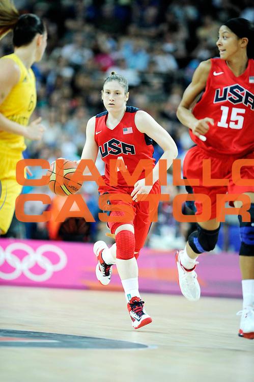DESCRIZIONE : Basketball Jeux Olympiques Londres Demi finale<br /> GIOCATORE : Whalen Lindsay USA <br /> SQUADRA : USA FEMME<br /> EVENTO : Jeux Olympiques<br /> GARA : USA AUSTRALIE<br /> DATA : 09 08 2012<br /> CATEGORIA : Basketball Jeux Olympiques<br /> SPORT : Basketball<br /> AUTORE : JF Molliere <br /> Galleria : France JEUX OLYMPIQUES 2012 Action<br /> Fotonotizia : Jeux Olympiques Londres demi Finale Greenwich Arena<br /> Predefinita :