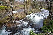 East Lyn River at Brendon, Exmoor national park, Devon, England