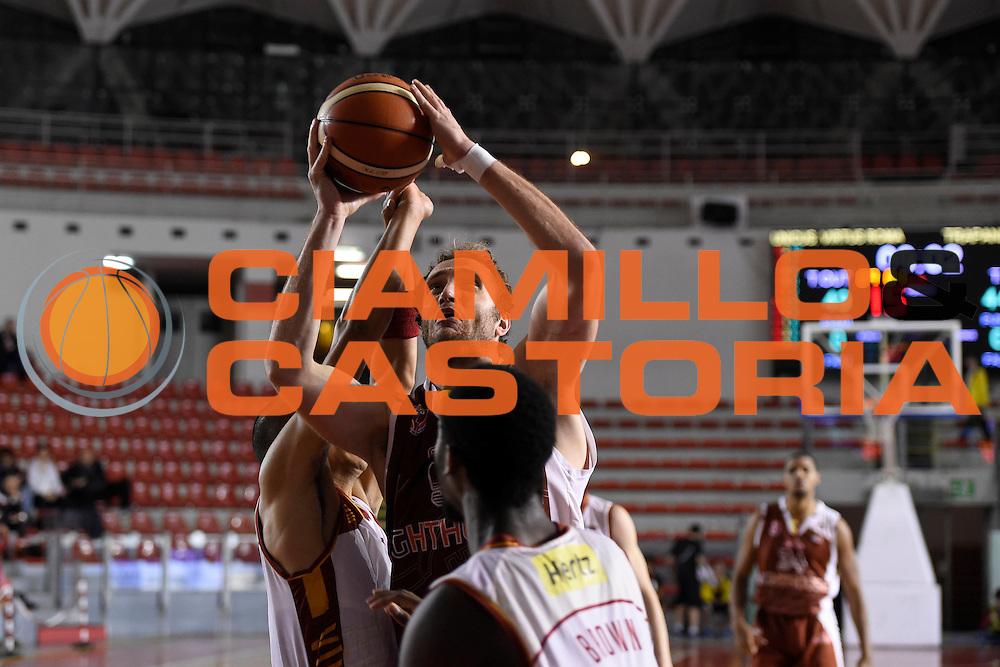 Andrea Renzi<br /> Unicusano Roma - Lighthouse Trapani<br /> Campionato Basket LNP 2016/2017<br /> Roma 08/12/2016<br /> Foto Ciamillo-Castoria