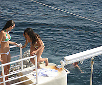Michelle Rodriguez by the pool.Hotel Du Cap - 2007 Cannes Film Festival .Cap D'Antibes, France .Wednesday, May 24, 2007.Photo By Celebrityvibe; .To license this image please call (212) 410 5354 ; or.Email: celebrityvibe@gmail.com ;.