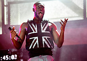 Stormzy Michael Ebenazer Kwadjo Omari Owuo Jr.  known professionally as Stormzy, is a British rapper. Grime music at its best. Performs at Glastonbury 2019. Headlines the Pyramid stage
