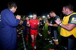 Josh Adams of Worcester Warriors cuts a dejected figure after defeat to Newcastle Falcons - Mandatory by-line: Robbie Stephenson/JMP - 01/09/2017 - RUGBY - Kingston Park - Newcastle upon Tyne, England - Newcastle Falcons v Worcester Warriors - Aviva Premiership