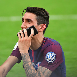 Angel Di Maria of PSG following the French Cup Final between Les Herbiers and Paris Saint Germain at Stade de France on May 8, 2018 in Paris, France. (Photo by Dave Winter/Icon Sport)