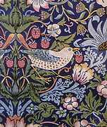 Strawberry Thief '1883:  William Morris (1757-1827) Tapestry.
