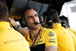 April 7, 2018 - Sakhir, Bahrain - ABITEBOUL Cyril (fr), Renault Sport F1 Managing Director, portrait during 2018 Formula 1 FIA world championship, Bahrain Grand Prix, at Sakhir from April 5 to 8  I  Motorsports: FIA Formula One World Championship 2018, Grand Prix of Bahrain, (Credit Image: © Hoch Zwei via ZUMA Wire)