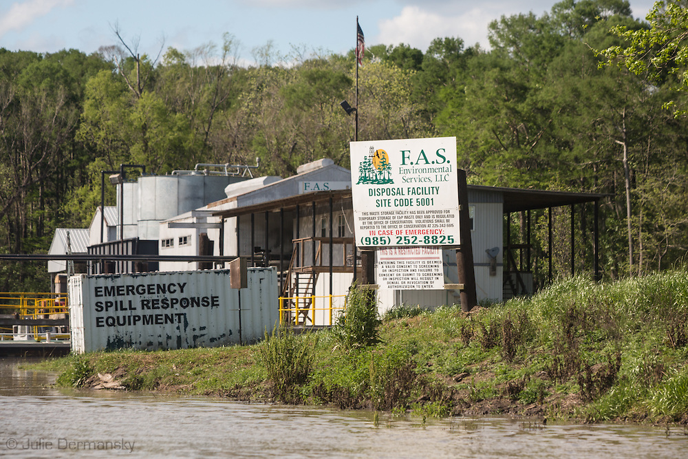 FAS wasterwater injection well inside the Atchafalaya Basin.