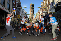 20150624 NED: WK Beachvolleybal on tour, Amsterdam