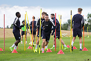Dundee's Randy Wolters during Dundee FC training at Michelin Grounds, Dundee, Photo: David Young<br /> <br />  - © David Young - www.davidyoungphoto.co.uk - email: davidyoungphoto@gmail.com