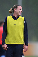 22 April 2008: Abby Wambach. The United States Women's National Team held a training session on Field 3 at WakeMed Soccer Park in Cary, NC.