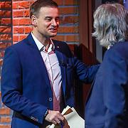 NLD/Hilversum/20171215 - Dick Advocaat te gast bij Voetbal Inside Wilfred Genee en Johan Derksen