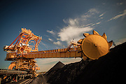 Coal Loader at Koorangang Island, NSW, Australia