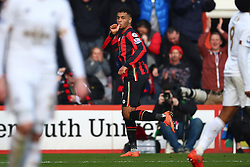 Goal, Joshua King of Bournemouth scores, Bournemouth 2-1Swansea City - Mandatory by-line: Jason Brown/JMP - Mobile 07966 386802 12/03/2016 - SPORT - FOOTBALL - Bournemouth, Vitality Stadium - AFC Bournemouth v Swansea City - Barclays Premier League