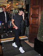 17.FEBRUARY.2013. LIVERPOOL<br /> <br /> LIVERPOOL AND BRAZIL FOOTBALLER PHILIPPE COUTINHO AND GIRLFRIEND ENJOY A MEAL AT SAN CARLO RESTAURANT IN LIVERPOOL.<br /> <br /> BYLINE: EDBIMAGEARCHIVE.CO.UK<br /> <br /> *THIS IMAGE IS STRICTLY FOR UK NEWSPAPERS AND MAGAZINES ONLY*<br /> *FOR WORLD WIDE SALES AND WEB USE PLEASE CONTACT EDBIMAGEARCHIVE - 0208 954 5968*