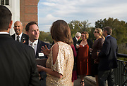 Guests mingle before the start of the Alumni Awards Gala on October 6, 2017.